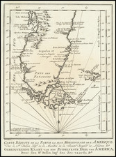 Argentina and Chile Map By J.V. Schley