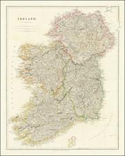 Ireland Map By John Arrowsmith