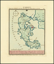 Greece Map By John Luffman