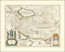 Persia Sive Sophorum Regnum By Willem Janszoon Blaeu