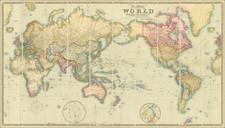 World Map By J & C Walker