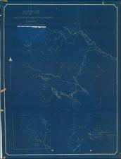 Washington Map By W. J. Riley