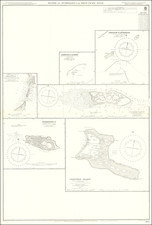 Pacific Ocean and Pacific Map By British Admiralty