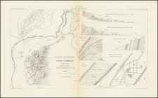 Nevada and Geological Map By Edmond Guillemin-Tarayre