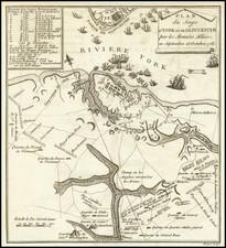 Virginia and American Revolution Map By Thomas Gordon