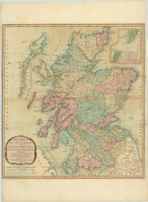 Scotland Map By Laurie & Whittle