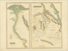 Egypt and East Africa Map By John Thomson