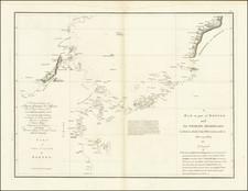Philippines and Indonesia Map By Jean-Baptiste-Nicolas-Denis d'Après de Mannevillette / Alexander Dalrymple