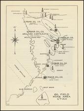 Utah and Utah Map By Embar Oil Company