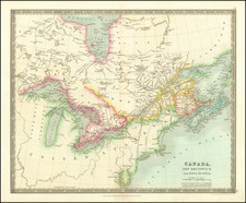 Midwest and Eastern Canada Map By Henry Teesdale