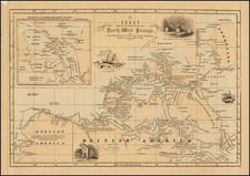 Polar Maps and Canada Map By Charles Morse
