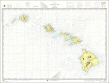 Hawaii and Hawaii Map By National Oceanic and Atmospheric Administration