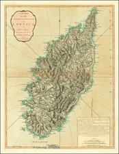 France and Balearic Islands Map By Richard Holmes Laurie  &  James Whittle