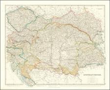 Germany and Austria Map By John Arrowsmith