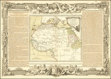 Africa, North Africa and West Africa Map By Louis Charles Desnos