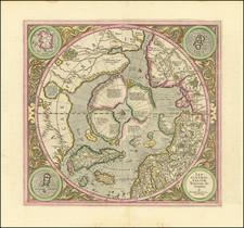 Northern Hemisphere and Polar Maps Map By Gerard Mercator