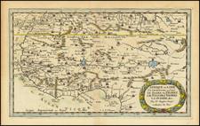 West Africa Map By Nicolas Sanson
