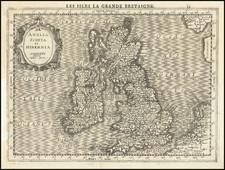 British Isles Map By  Gerard Mercator / Jan Everts Cloppenburgh