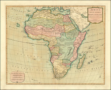 Africa Map By Laurie & Whittle