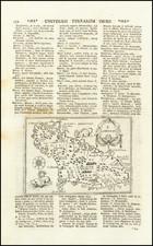 African Islands, including Madagascar Map By Alphonsus Lasor a Varea