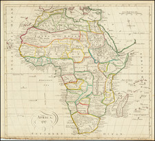 Africa Map By Thomas Kitchin