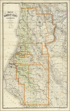 California Map By J.N. Lentell