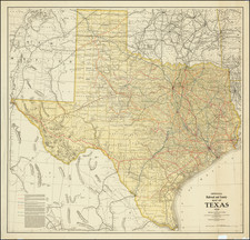 Texas Map By Railroad Commission of Texas