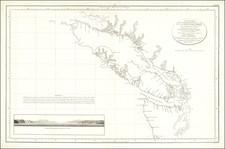Pacific Northwest and British Columbia Map By Direccion Hidrografica de Madrid