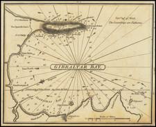 Gibraltar Map By William Heather