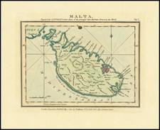 Malta Map By John Luffman