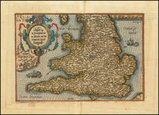 England Map By Matthias Quad