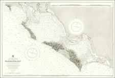 Baja California Map By British Admiralty