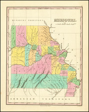Missouri Map By Anthony Finley