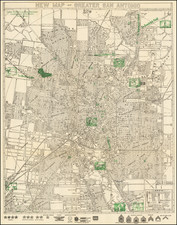 Texas Map By Southwell Map Company