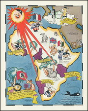 Europe, Africa and Pictorial Maps Map By Richard Q. Yardley  &  Peggy Yardley