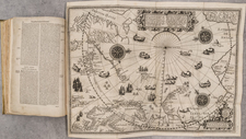 Polar Maps, Atlases and Rare Books Map By Jan Huygen van  Linschoten