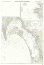 San Diego Map By British Admiralty
