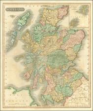 Scotland Map By John Thomson