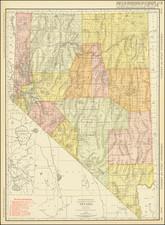 Nevada Map By Rand McNally & Company