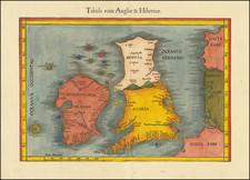 British Isles, England, Scotland and Ireland Map By Lorenz Fries