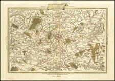 France and Paris Map By Antonio Zatta