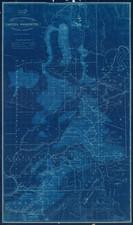 Idaho and Washington Map By O Wetten