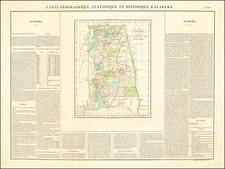 Alabama Map By Jean Alexandre Buchon