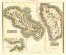 Other Islands and Martinique Map By John Thomson