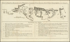 Mid-Atlantic, New Jersey and American Revolution Map By Michel Rene Hilliard d'Auberteuil
