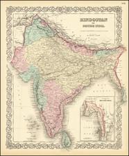 Hindostan or British India By Joseph Hutchins Colton
