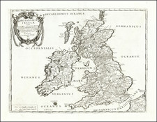 British Isles Map By Tipografia del Seminario