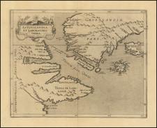 Estotilandia et Laboratoris Terra By Cornelis van Wytfliet