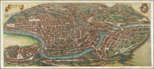 Rome Map By Matthaeus Merian