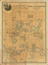 Florida Map By S.P. Shepherd